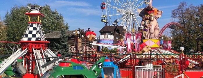 Семейный парк Skazka is one of С Мишей.