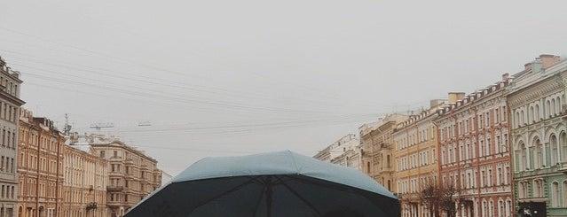 Gorokhovaya street is one of Locais curtidos por Natalie.