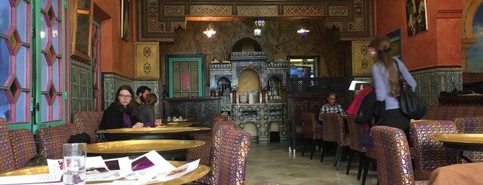 Salon de Thé de la Grande Mosquée de Paris is one of Locais curtidos por Natalie.