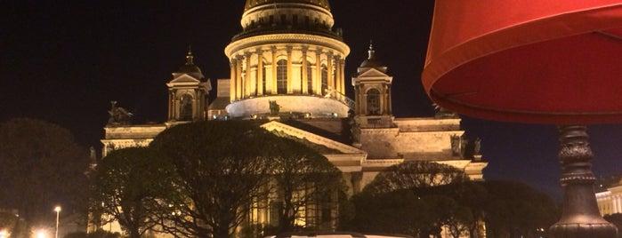 Place Saint-Isaac is one of Lieux qui ont plu à Natalie.