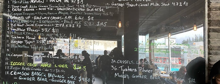 Smiths Craft Beer House is one of New Zealand 2020.
