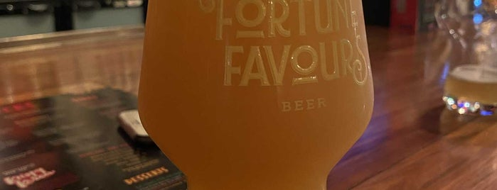 Fortune Favours is one of NZ.