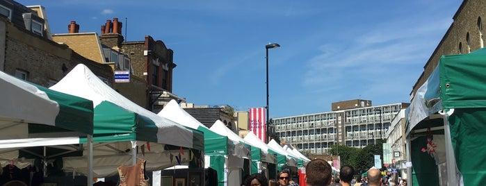 Well Street Market is one of London.