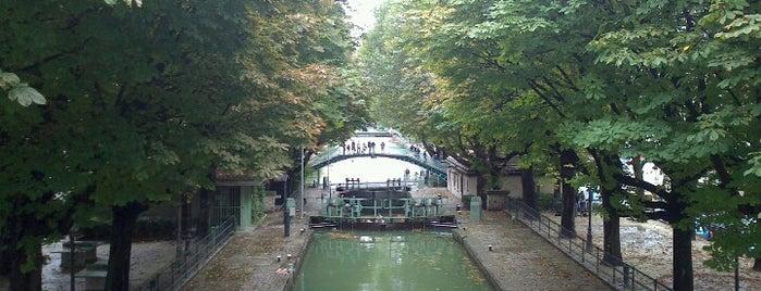 Saint-Martin Kanalı is one of Paris Places To Visit.