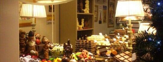 Chocolatier Dumon is one of Brugge (Herfst).