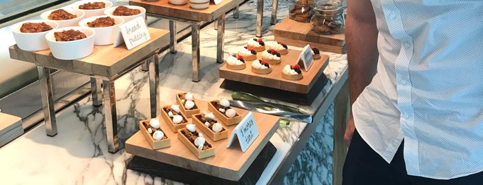 Bazaar Mar by Jose Andres at SLS Brickell is one of Miami Spots.