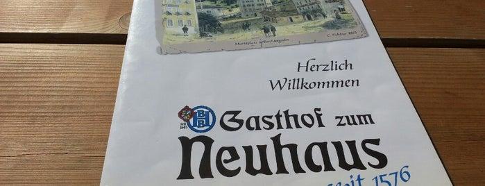 Neuhaus Biergarten is one of Thomas's Liked Places.