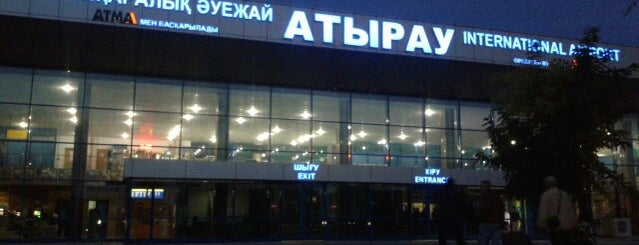 Atyrau International Airport (GUW) is one of Nuriさんのお気に入りスポット.