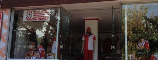 Samsunspor Store is one of Lugares favoritos de Cem.