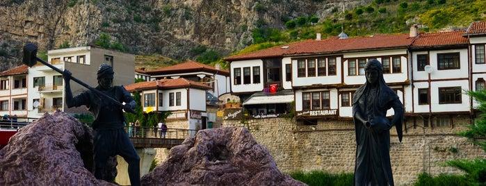 Alçak Köprü is one of Amasya.