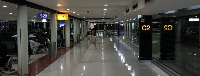 Gate C2 is one of Airports.
