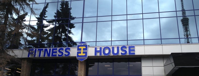 Fitness House is one of Locais curtidos por Елена.