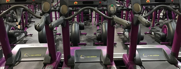 Planet Fitness is one of Been there done that.