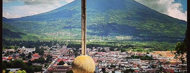Cerro De La Cruz is one of Antigua, Guatemala.