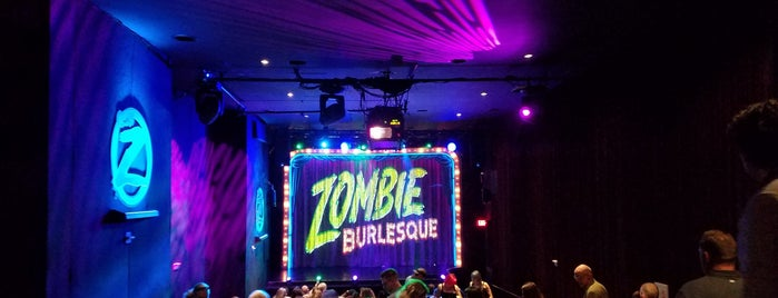 Zombie Burlesque is one of Vegas.