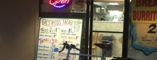 Al Rico's Tacos is one of Fresno Area Favorites.