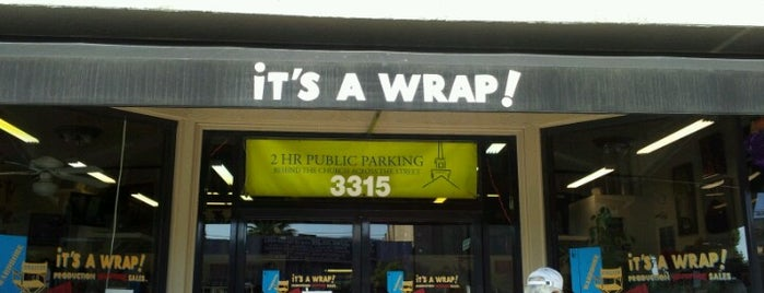 It's a Wrap is one of JNETs Hip and Happy LA Places.