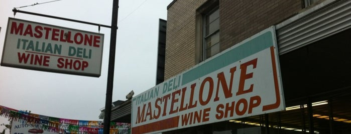 Mastellone's Italian Deli is one of Posti salvati di Rachel.