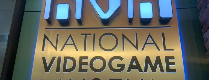 National Videogame Museum is one of Dallas Todo.