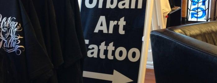 Urban Art Tattoo II is one of Anthony: сохраненные места.