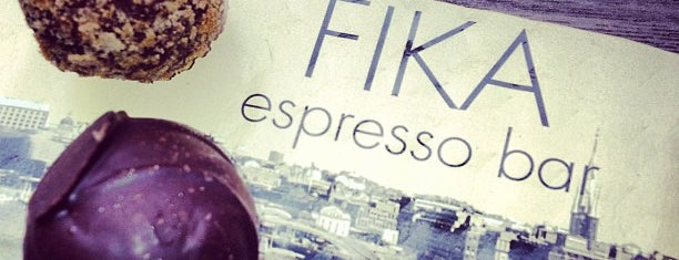 FIKA Espresso Bar is one of USA NYC MAN NoMad.