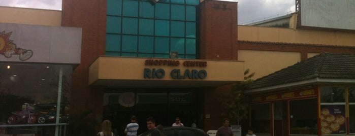 Shopping Rio Claro is one of locais.