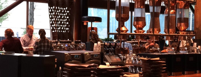 Starbucks Reserve Roastery is one of Breakfast, Cafes and Coffee Shops.