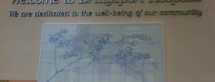 Bridgeport Hospital is one of Tempat yang Disukai Lindsaye.
