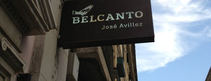 Belcanto is one of The World's Best Restaurants.