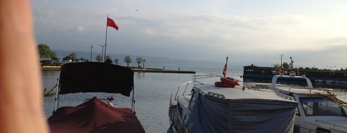 Mercan Balık Lokantası is one of Tempat yang Disukai Barış.