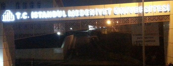 Medeniyet Universitesi is one of İstanbul'daki Üniversite ve MYO'ların Kampüsleri.