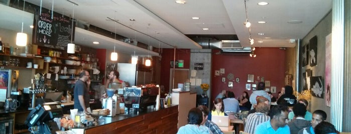 Epicenter Cafe is one of Laptop-friendly cafés in SF.