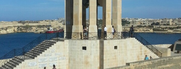 Siege Bell War Memorial is one of VISITAR Malta.