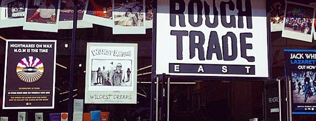 Rough Trade East is one of Fringe London.