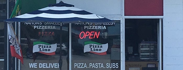 Pizza Lino is one of All ABout Pizza.