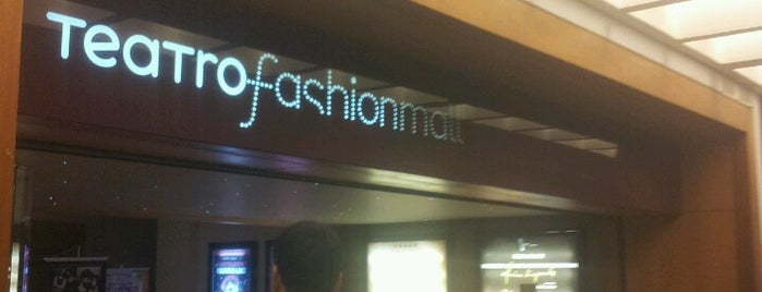 Teatro Fashion Mall is one of Locais curtidos por Michel.