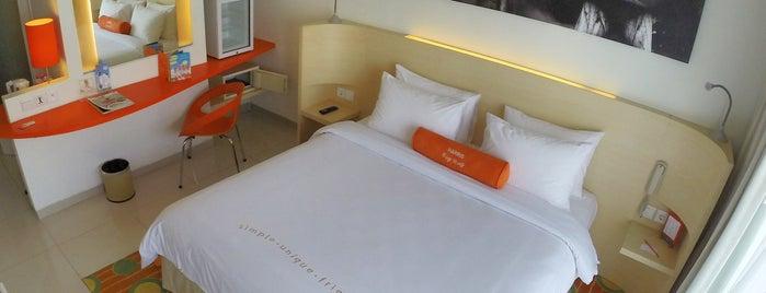 HARRIS Hotel Bukit Jimbaran is one of Fern'in Kaydettiği Mekanlar.