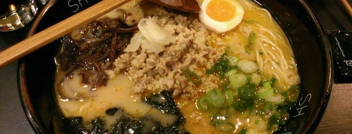 Shoryu Ramen is one of London Ramen.