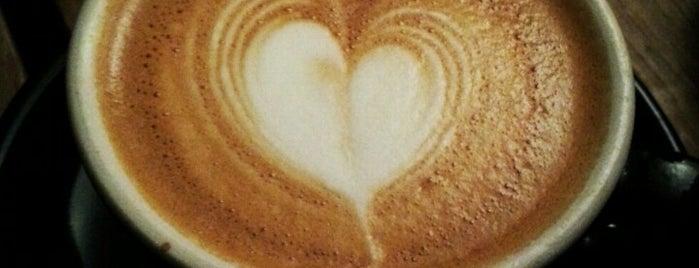 Kaffeine is one of Specialty Coffee Shops (London).