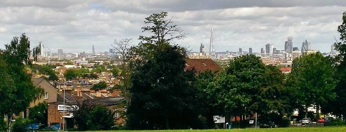 Telegraph Hill Park is one of London.