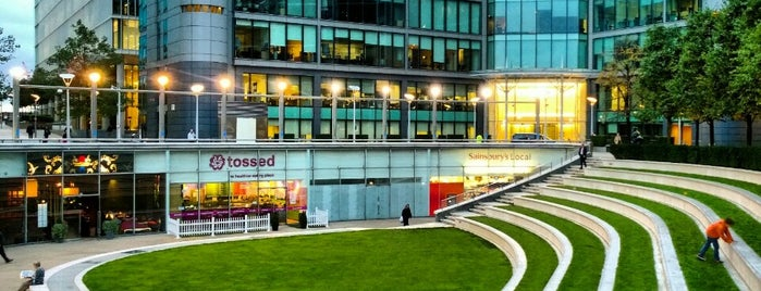 Sheldon Square is one of London reloaded 2018.
