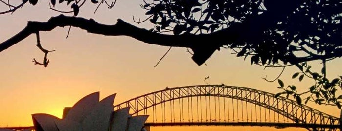 Mrs. Macquarie's Point is one of Sydney.