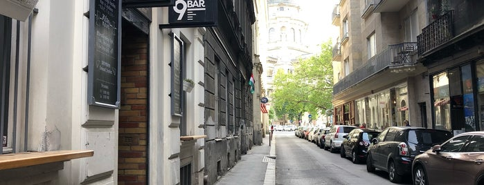 9Bar Coffee is one of Budapest.