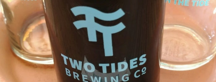 Two Tides Brewing Co. is one of Savannah GA.