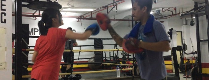 Empire Boxing is one of Rio Mario'nun Beğendiği Mekanlar.