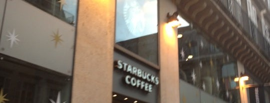 Starbucks is one of Orte, die Samet gefallen.
