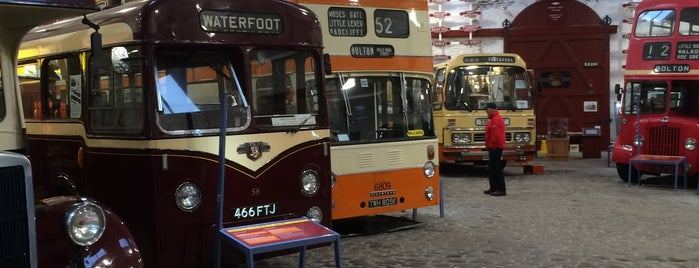 Bury Transport Museum is one of Greater Manchester Attractions.