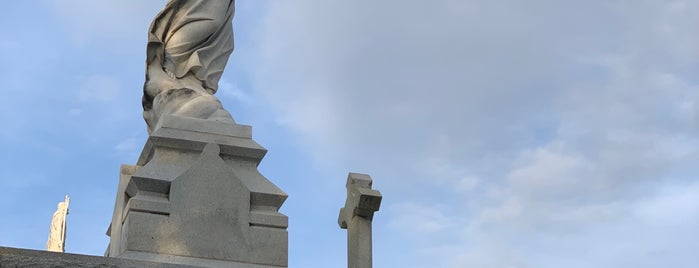 St. Louis Cemetery No. 2 is one of New Orleans.