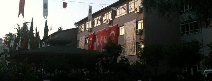 Antalya Anadolu Lisesi is one of Bonus Etiket Coin.