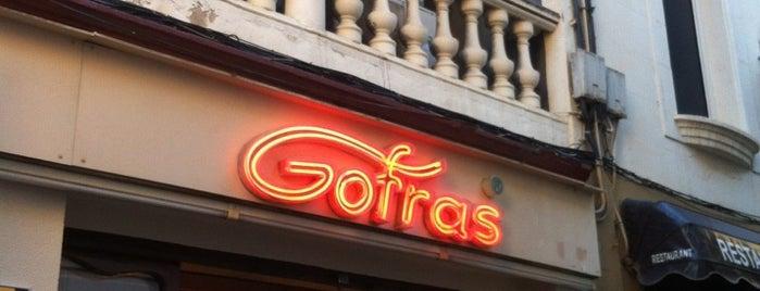 Gofras is one of Comida.